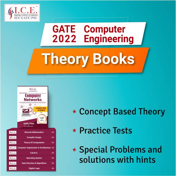 GATE Computer Science(CSE) Engineering Complete Study Materials 2022: Theory Books- All Subjects