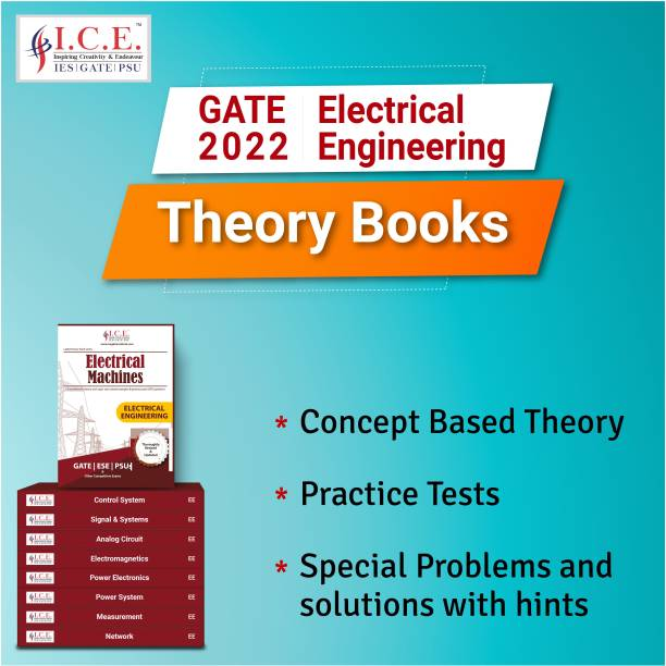 GATE Electrical Engineering Complete Study Materials 2022: Theory Books- All Subjects