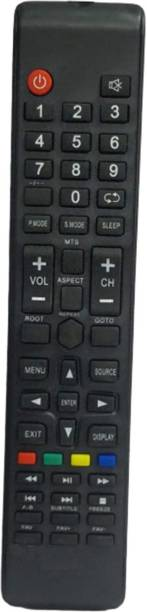 Electvision Remote Control for LED or LCD TV Compatible with Mitashi Televisions (Please Match The Image with Your Existing Remote Before Placing The Order Before)  Mitashi LED / LCD TV. Remote Controller