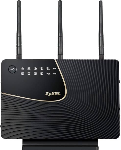 Zyxel Simultaneous Dual-Band Wireless N900 Media Gigabit Ethernet (NBG5715) 1000 Mbps Router
