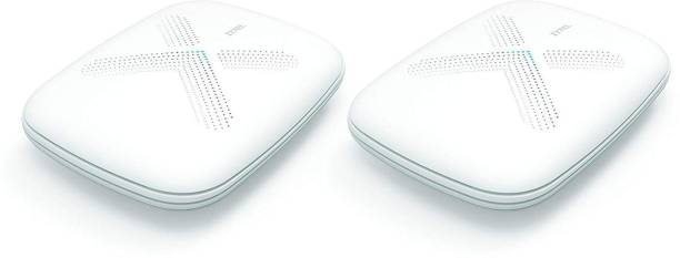 Zyxel [WSQ50-EU0201F] Twin Multi X Kit, AC3000 Home Wi-Fi Mesh System Up to 5,000 sq. ft, Tri-Band technology 1000 Mbps Router