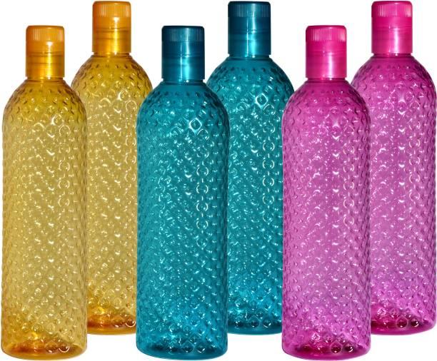 Aone Dimond Design Plastic Fridge,office,Home Water Bottle 1000 ml Bottle