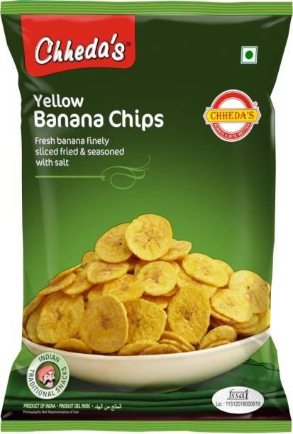 Chheda's Yellow Banana Chips 350g - Pack of 1 Chips