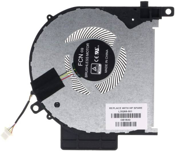 gtb solutions Laptop CPU Cooling Fan for HP Envy X360 15-CN 15-cn0001la 15M-CN 15M-CN0011DX 15-CP 15M-CP L20107-001 L35269-001 Cooler