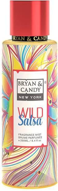 Bryan & Candy NewYork Wild Salsa Fragrance Body Mist Spray for Women (250ml) No Gas Perfume Body Mist  -  For Women