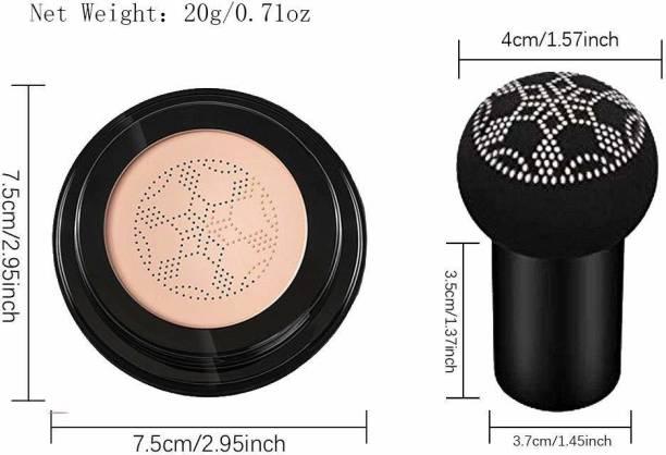 Triangle Ant Air Cushion Mushroom Head CC Cream Concealer Makeup Moisturizing BB Foundation`` Foundation