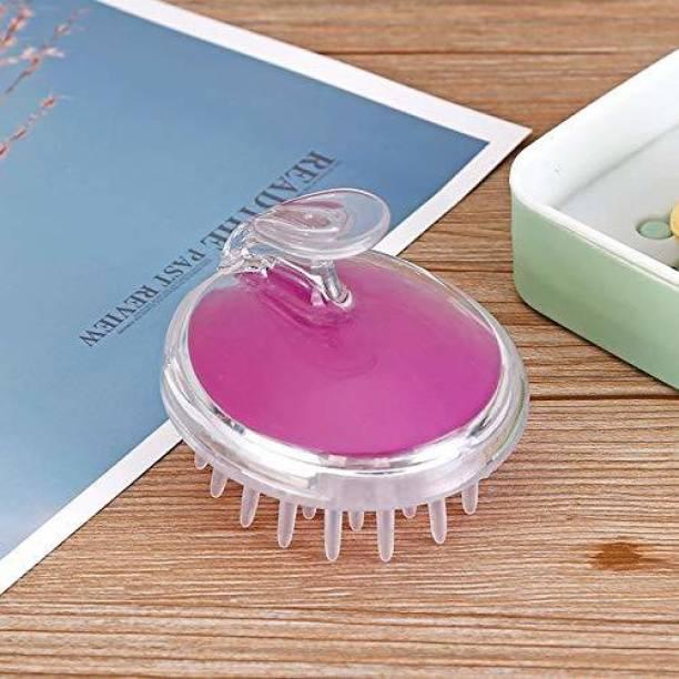 Encora Hair Brush Scalp Massager Exfoliating Massager Shampoo Brush Comb for Men Women (purple)
