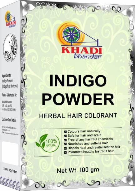 KHADI BHANDAR 100% Organic Indigo Powder