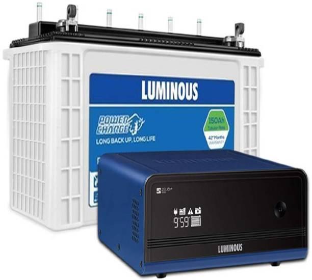LUMINOUS Zelio1100+PC18042TJ TT Tubular Inverter Battery