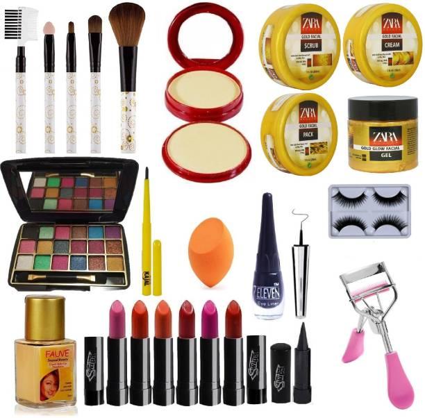 SWIPA Exclusive Beauty Combo Makeup Set With Facial Kit-01