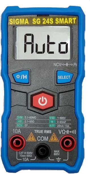 SIGMA 24S SMART TRMS 6000 Counts (Autorange) Smart Multimeter Digital Multimeter