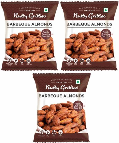 Nutty Gritties Barbeque Almonds Almonds