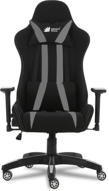 GREEN SOUL Gaming/Ergonomic Chair (Beast Series - GS-600) Leatherette, Fabric Office Executive Chair