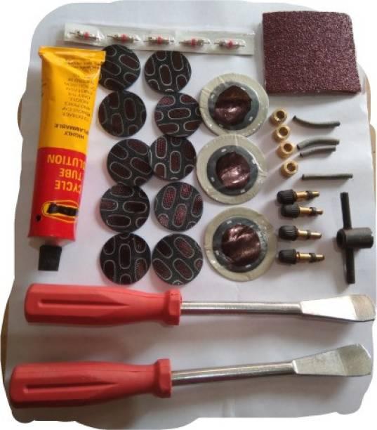 Venus Cycle puncture repair full kit Tubed Tyre Puncture Repair Kit