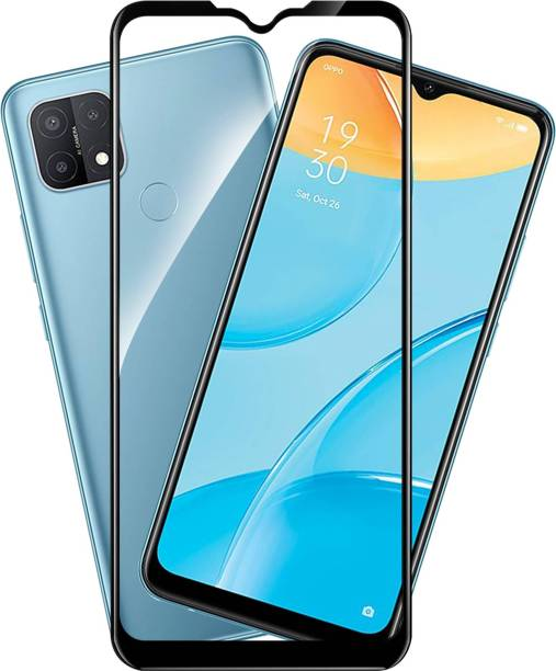 KWINE CASE Edge To Edge Tempered Glass for Oppo A15, Oppo A15s