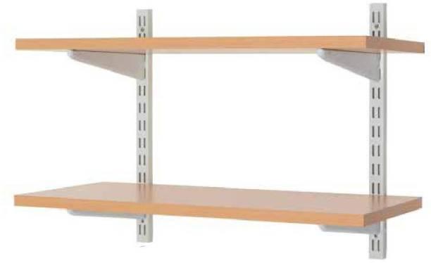 hydur™ Wooden, Steel Wall Shelf