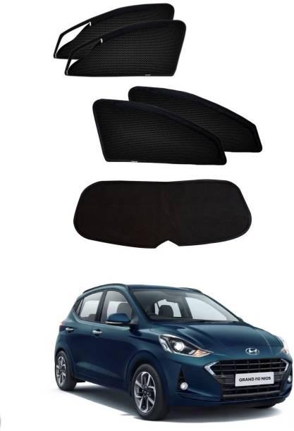 AuTO ADDiCT Side Window Sun Shade For Hyundai Grand i10