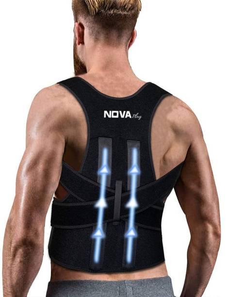 Nova Play Premium Posture Corrector Shoulder Belt for Lower and Upper Back Back Support