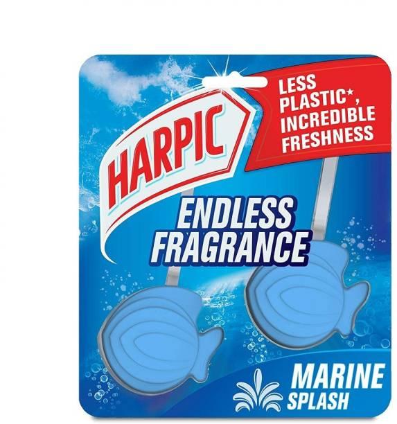 Harpic Endless Fragrance Marine Splash Regular Block Toilet Cleaner