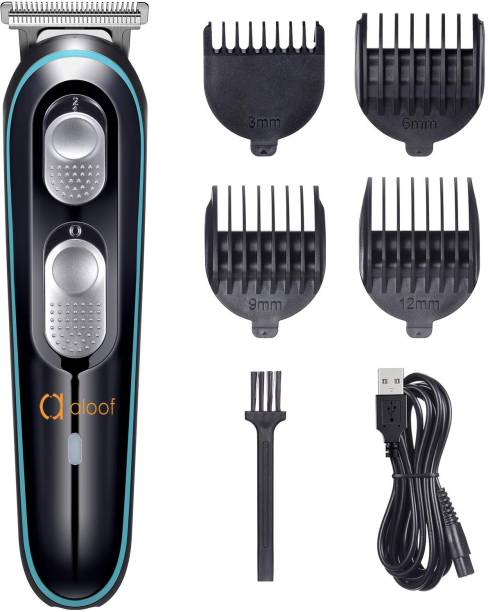 Aloof A999 Professional Hair Trimmer  Runtime: 100 min Trimmer for Men