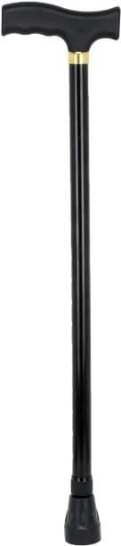 RCSP Walking Stick for Old People Men and Women Aluminum Black Walking Stick