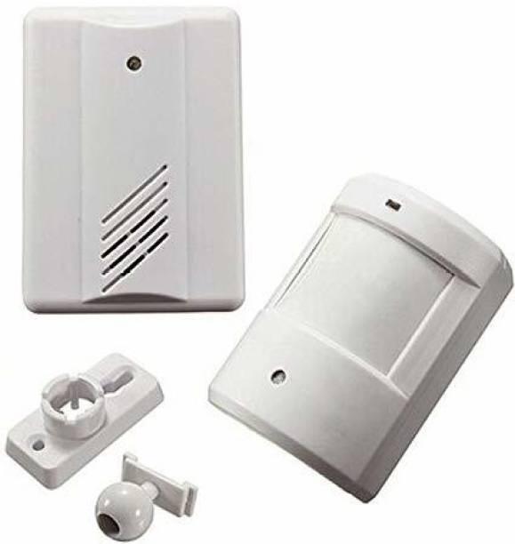 QAWACHH Wireless doorbell Chime Motion Sensor Alarm Door Secure Remote Detection System Door & Window Door Window Alarm