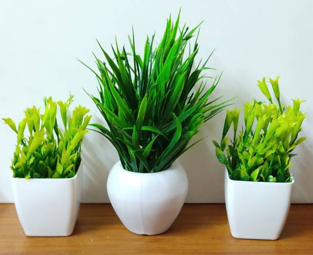 Nimkar's Bonsai Wild Artificial Plant  with Pot