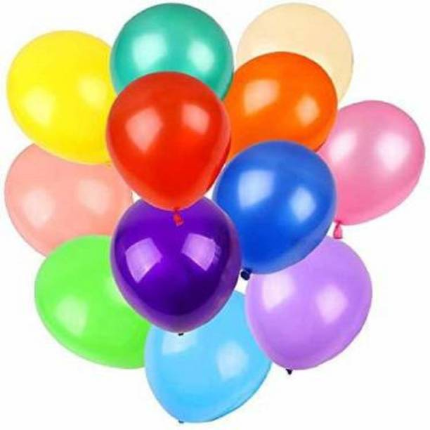 BBS DEAL Solid 50pcs Latex Balloons, 12inch Multicolor to Celebrate Latex Balloons, Premium Thick Balloons for Birthday/Party/Christmas/Wedding and Holidays Balloon