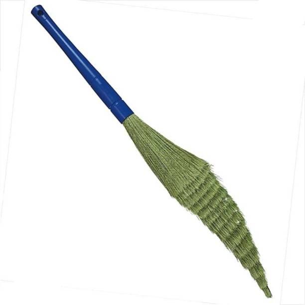 Gadar GOOD QUALITY SOFT & FLEXIBLE NO DUST BROOM Plastic Dry Broom