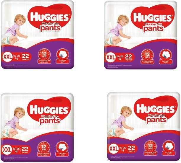 Huggies Wonder Dry Pants - XXL (22 pieces) - ( Pack of 4 ) - XXL