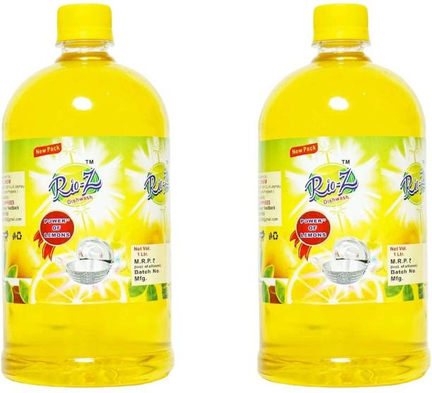 Rio-Ze Dish cleaning liquid 1ltr (pack of 2) Dish Cleaning Gel