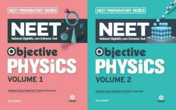 Combo Objective Physics For Neet Volume - 1 & 2 (Paperback, DC PANDEY) (Paperback, DC PANDEY) BY MR BOOKS