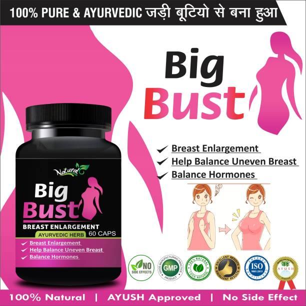 Fasczo Big Bust Herbal Supplement For Women's Health Care 100% Ayurvedic