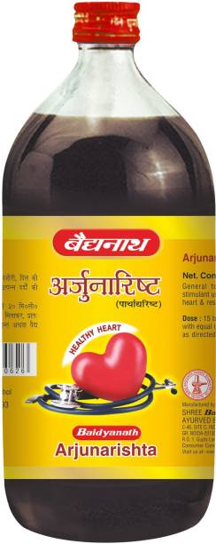 Baidyanath Arjunarishta for Healthy Heart and Digestion, helps to maintains Blood pressure and Sugar Levels |