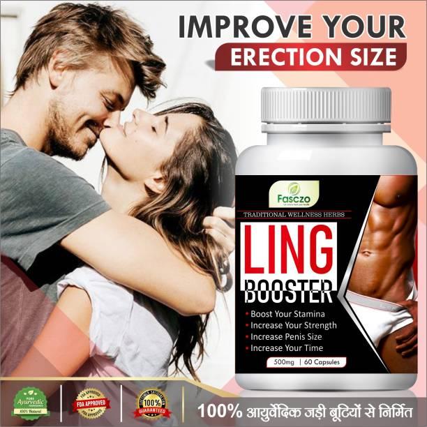 Fasczo Ling Booster Sexual Capsules For Ling Lamba Mota Karne Ki Dawa/ Ling Khada Karne Ki Dawai 100% Ayurvedic