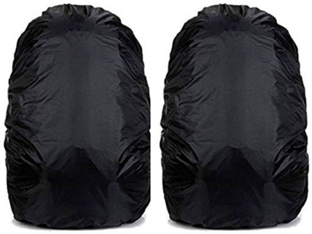 DBK Best Quality Water Proof Dust, Snow Mud, Rain Cover For Laptop Bags And Backpack Waterproof Laptop Bag Cover, Luggage Bag Cover, School Bag Cover, Trekking Bag Cover (Pack Of 2) Dust Proof, Waterproof Laptop Bag Cover, School Bag Cover, Trekking Bag Cover