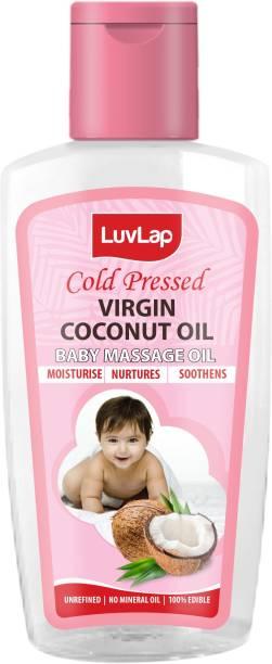 LuvLap Cold Press Virgin Coconut Baby Massage Oil 200ml
