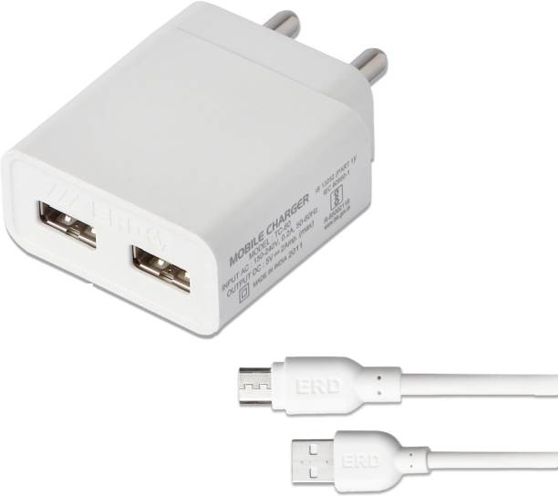 ERD TC-60_MICROUSB 2 A Multiport Mobile Charger with Detachable Cable