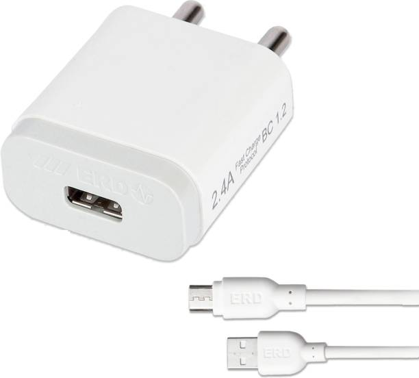 ERD TC-24_MICROUSB 2.4 A Mobile Charger with Detachable Cable