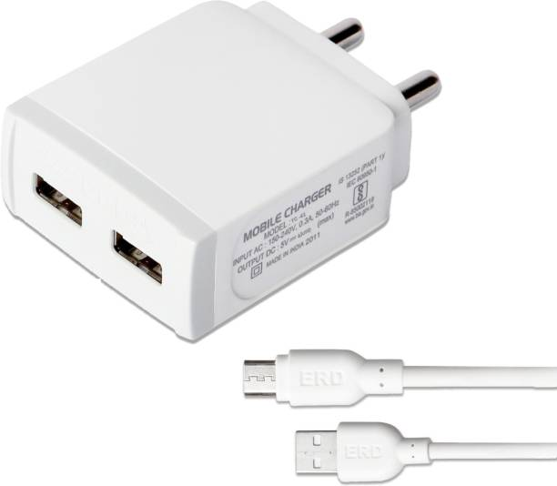 ERD TC 42_MICROUSB 4 A Multiport Mobile Charger with Detachable Cable