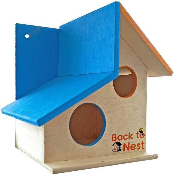 PetNest Bird House Nest Box for SparrowBest Return Gift for Kids- DECO13 Bird House