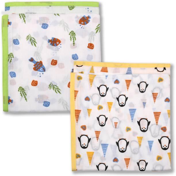 YUV Printed Crib Swaddling Baby Blanket