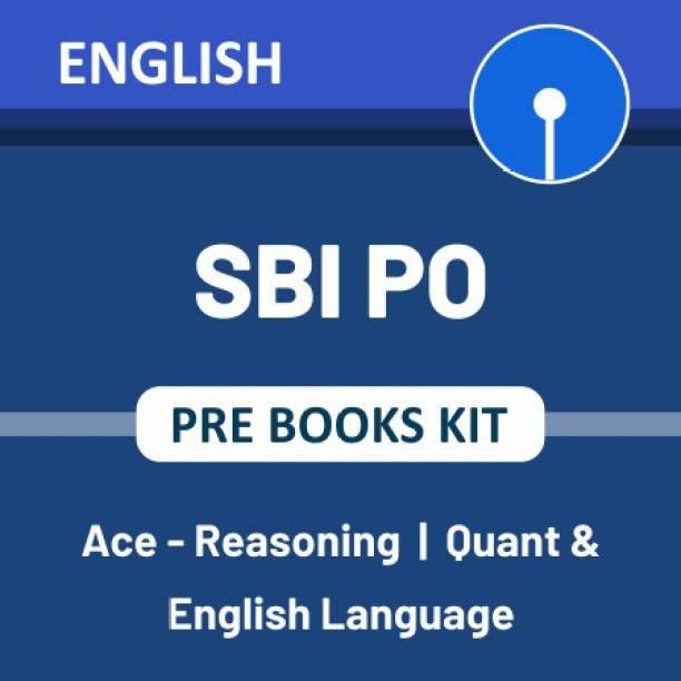SBI PO Prelims 2021 Books Kit (Set of 3 English Printed Edition books) English | Reasoning | Quant