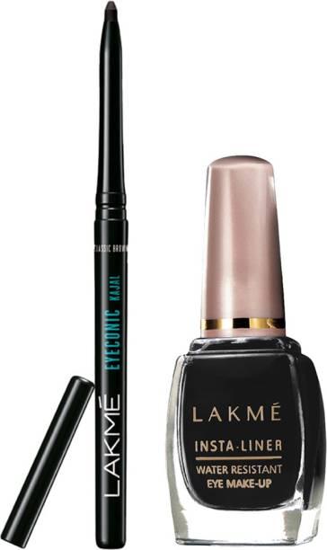 Lakmé Eyeconic Kajal + Insta Eye Liner Combo