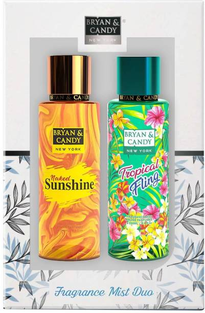 Bryan & Candy Tropical Fling And Naked Sunshine Body Mist Duo Body Mist  -  For Women