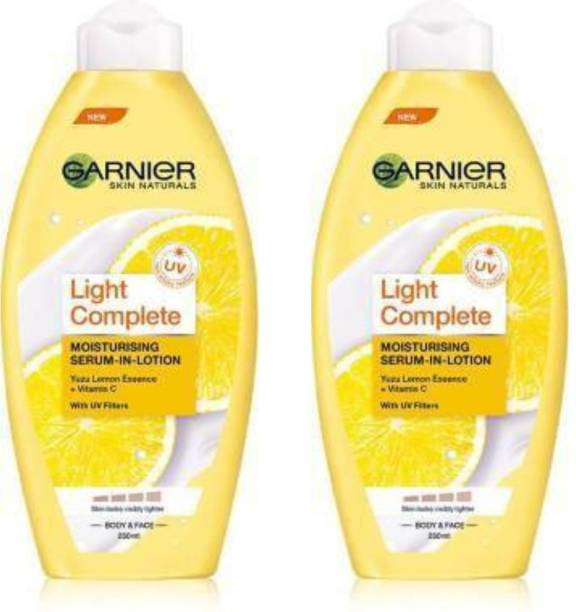 GARNIER Skin Naturals Light Complete Moisturising Serum-In-Lotion with UV Filters