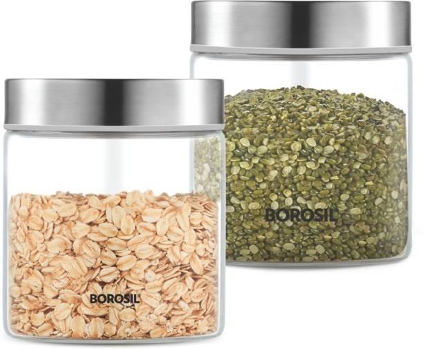 BOROSIL BVS2JRSS600_Endura Jar  - 600 ml Glass Grocery Container