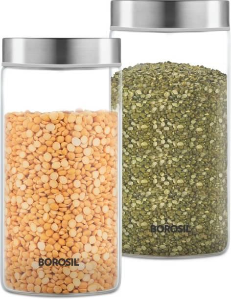 BOROSIL BVS2JSS1200_Endura Jar  - 1200 ml Glass Grocery Container
