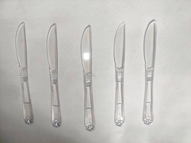TBR 50 HEAVY DUTY CAKE KNIFE Plastic Dessert Knife Set