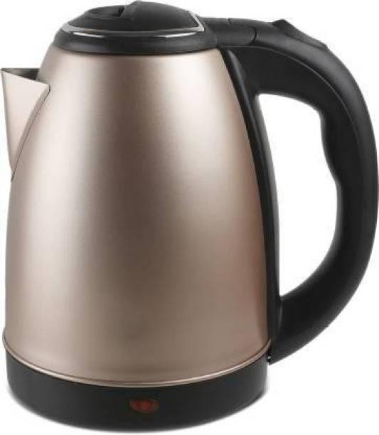 crystalia 701-18-GOLD Electric Kettle